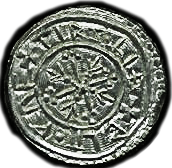 Reverse of William coin.