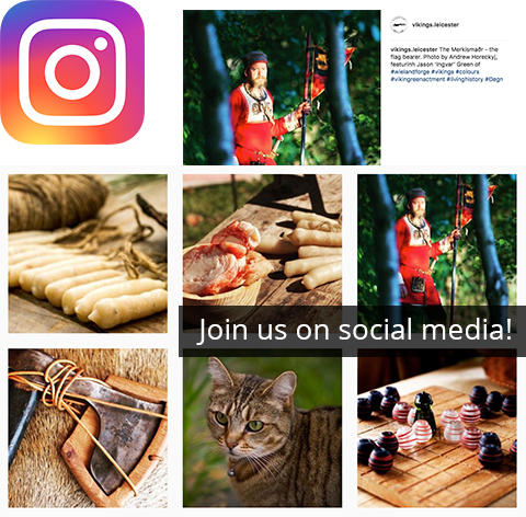 Join us on Instagram for a close look at cool Viking objects!
